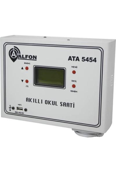 Alfon ATA-5454 Akıllı Okul Saati (Duvar Tipi)
