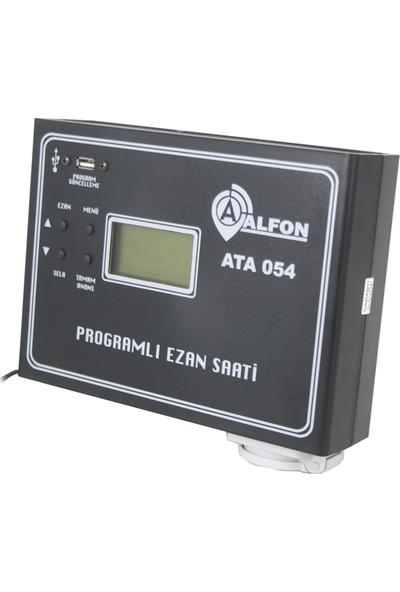 Alfon ATA-054 Programlı Ezan Saati (Duvar Tipi)