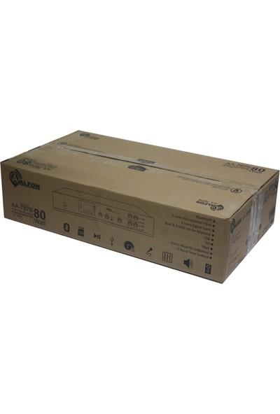 Alfon AA-7070 100W Usb/sd/ Bt 70-100V 2 Bölgeli Tr