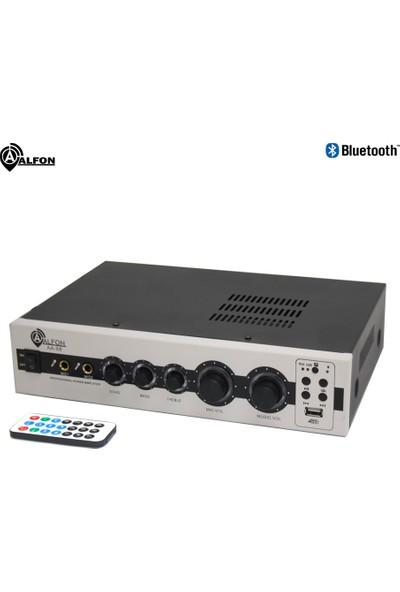 Alfon Aa-88 100W Usb/sd/rca/bt 2 Kanal Stereo Anfi