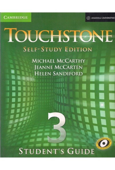 Touchstone Self - Study Edition 3 Student's Book & Student's Guide Dvd-Rom
