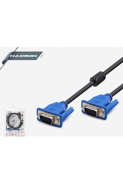 Hadron HD4325 VGA Kablo 2 mt Siyah