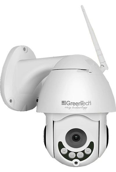 Greentech GT-IP63HD Hareketli Dış Mekan Wifi IP Kamera