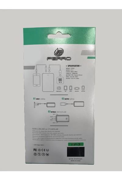 Ferro 10000 Mah Powerbank