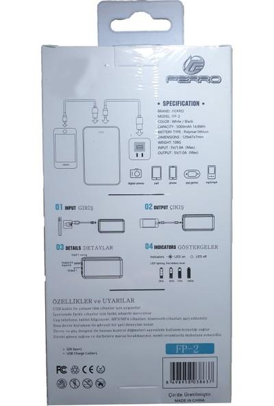 Ferro 5000 Mah Powerbank