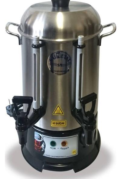 Saim Metal 120 Bardak Çay Makinesi