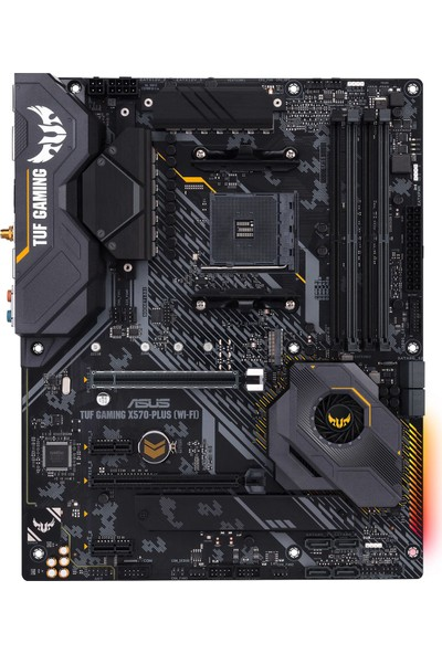 Asus TUF Gaming X570-PLUS (WI-FI) AMD X570 4400MHz DDR4 AM4 MidTower Anakart