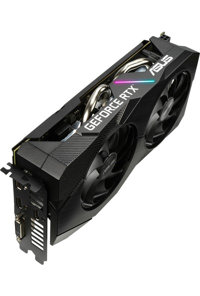 Asus Dual Nvidia RTX 2060 OC Evo 6GB 192Bit GDDR6 DX(12) PCI-E 3.0 Ekran Kartı (DUAL-RTX2060-O6G-EVO)
