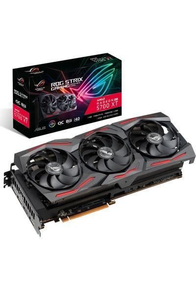 Asus Strix AMD RX5700 XT OC Gaming 8GB 256Bit GDDR6 DX(12) PCI-E 3.0 Ekran Kartı (STRIX-RX5700XT-O8G-GAMING)