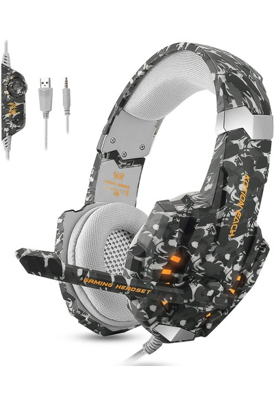 Ecoopro Ps4 Gaming Headset Stereo Gaming Headset 3,5 mm