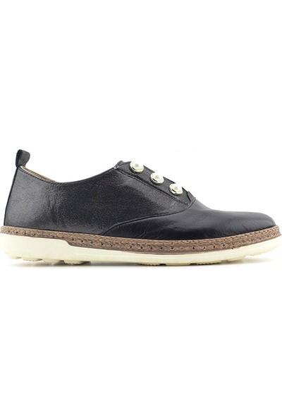Meldymoor 104E Hakiki Deri Kadın Günlük Ayakkabı