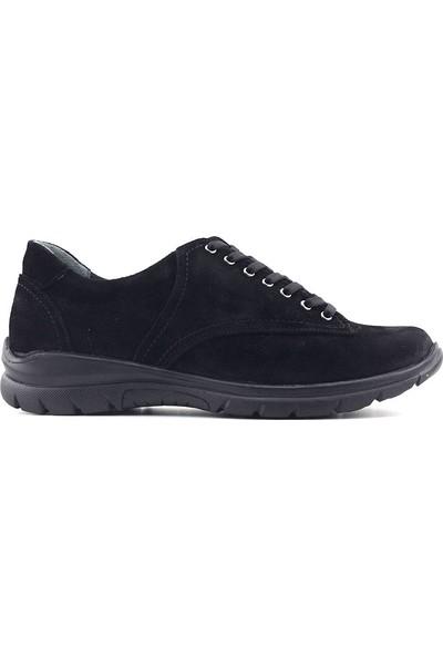 Evida 2441 Hakiki Deri Kadın Ayakkabı