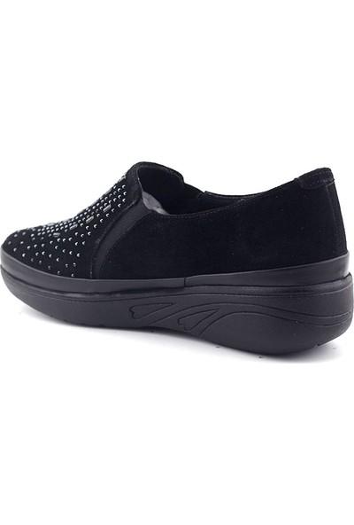 Evida 2659 Hakiki Deri Kadın Ayakkabı