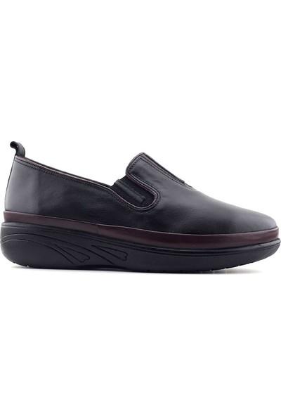 Evida 2663 Hakiki Deri Kadın Ayakkabı