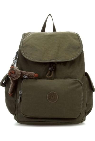 Kipling City Pack S Basic Plus Sırt Çantası Jaded Gree K15635-20J