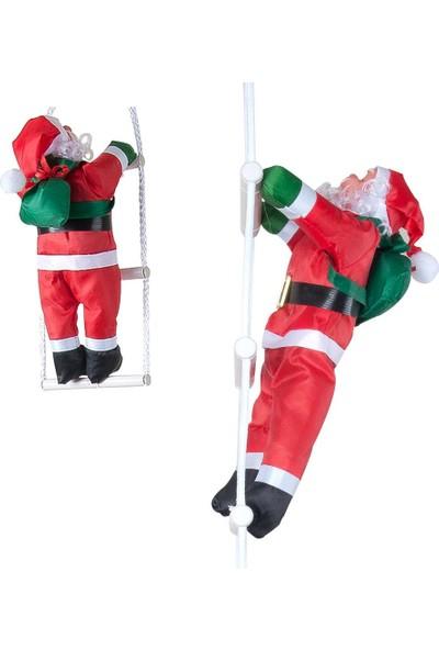 Kikajoy Yılbaşı Merdivene Tırmanan Noel Baba 85 cm