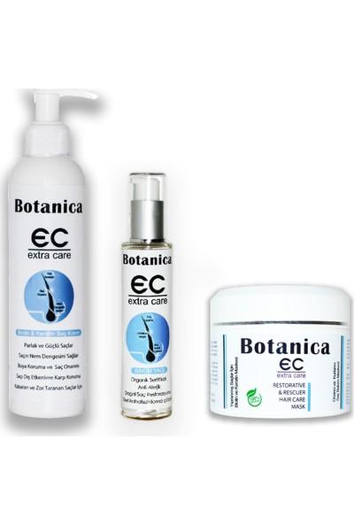Botanica Sert – Mat – Kuru Saçlara Bakım Seti – Kabaran Saçlar Için Bakım Seti