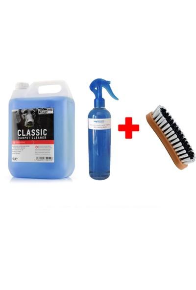 Valet Pro Classic Carpet Cleaner Koltuk Temizleme 500 ml (Bölünmüş Ürün) + Upcare Temizleme Fırçası