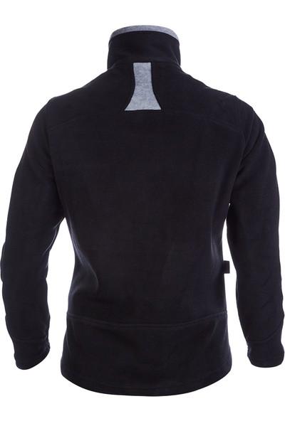 Outdoor Bayan Polar Ceket (Siyah)