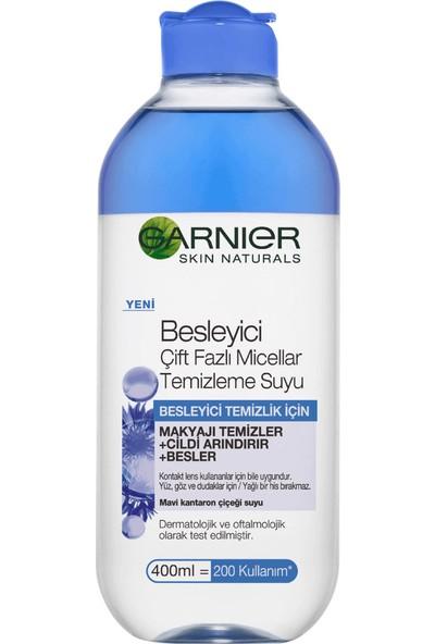 Garnier Besleyici Çift Fazlı Micellar Temizleme Suyu 400 ml