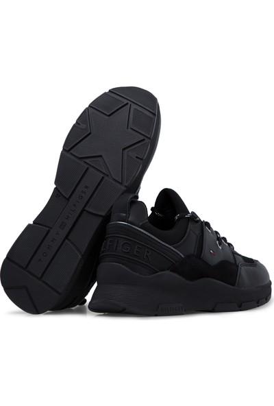 Tommy Hilfiger Logo Detaylı Ayakkabı Kadın Ayakkabı Fw0Fw04294 Bds