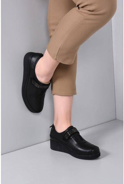 Gön Deri Kadın Ayakkabı 33626