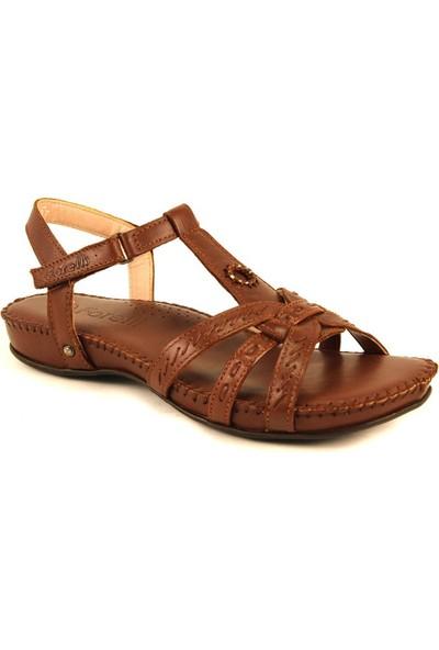 Forelli 23109 Kadın Taba Deri Sandalet