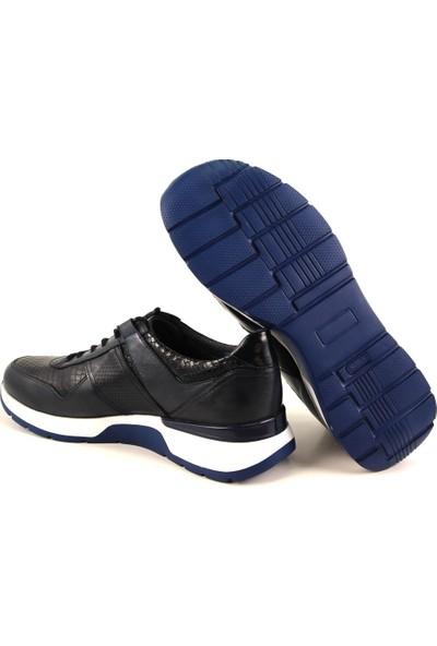 Forelli 42605 Erkek Lacivert Deri Ayakkabı