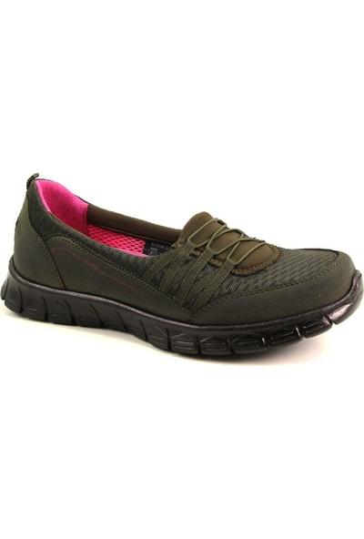 Forelli 61014 Kadın Haki Spor Ayakkabı