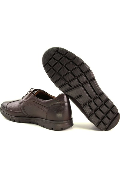 Forelli 32605 Erkek Kahve Deri Ayakkabı