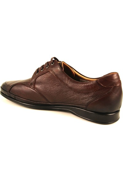 Forelli 46101 Kahve Deri Erkek Ayakkabısı