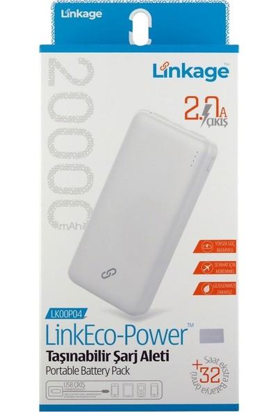 Linkage 20000 Mah Taşınabilir Şarj Cihazı Powerbank 2.0 Quick Şarj
