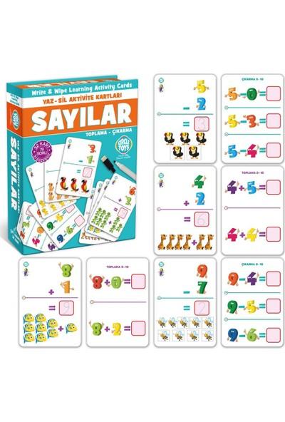 Sevfe Circle Toys Sayılar Yaz-Sil Aktivite Kartları Çift Taraflı 32KART