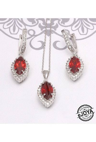 Ejoya Zircone Taşlı Gümüş Takım UCLRT308