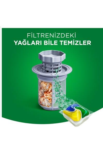 Fairy Platinum 72 Yıkama Bulaşık Makinesi Deterjanı Kapsülü Limon Kokulu
