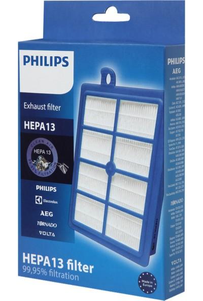 Philips Uyumlu Teleskopik Çelik Süpürge Borusu + Hepa 13 Filtre Seti