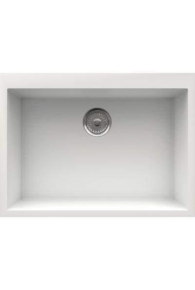 Real Granit Eviye Beyaz K002-W