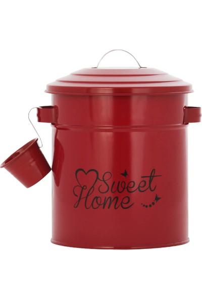 Nilşah Ölçekli Deterjan Saklama Kutusu Kırmızı