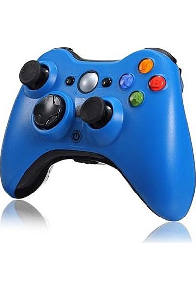 Microsoft Xbox 360 Wireless Controller Kablosuz Kumanda Oyun Kolu Mavi