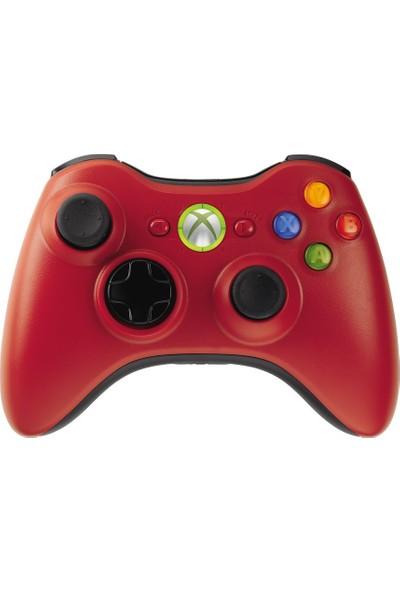 Microsoft Xbox 360 Wireless Controller Kablosuz Kumanda Oyun Kolu Kırmızı