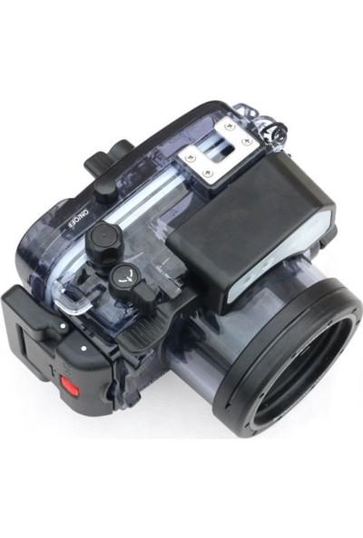 Seafrogs RX100 V Housing Sony DSC-RX100 V - I,ıı,ııı,ıv.v- Kamera Için Sualtı Kabı