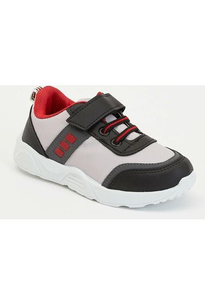 Defacto Erkek Çocuk Cırtcırtlı Bağcıklı Renk Bloklu Spor Ayakkabı