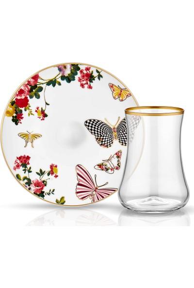 Koleksiyon Dervish Çay Seti 6'lı Mariposa