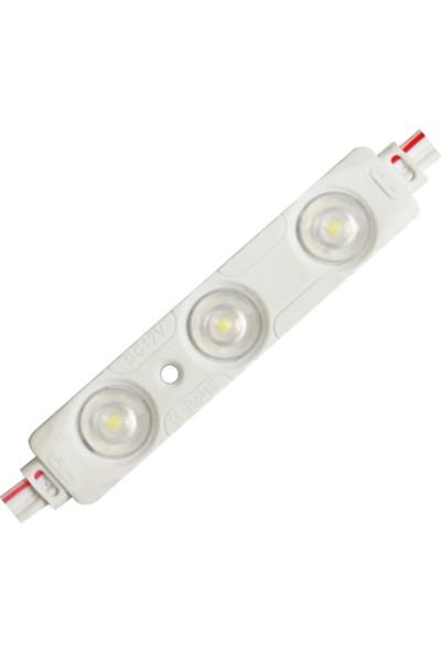 Beyaz Kısa Mercekli LED Modül 0.72WATT - 10 Adet