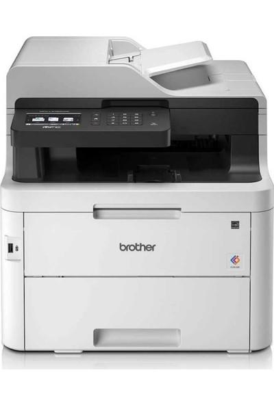 Brother MFC-L3750CDW Wifi+Fotokopi+Fax+Tarayıcı Çok Fonksiyonlu Renkli Lazer Yazıcı
