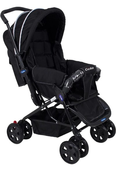 Acr Ciciko Bebek Arabası - Siyah