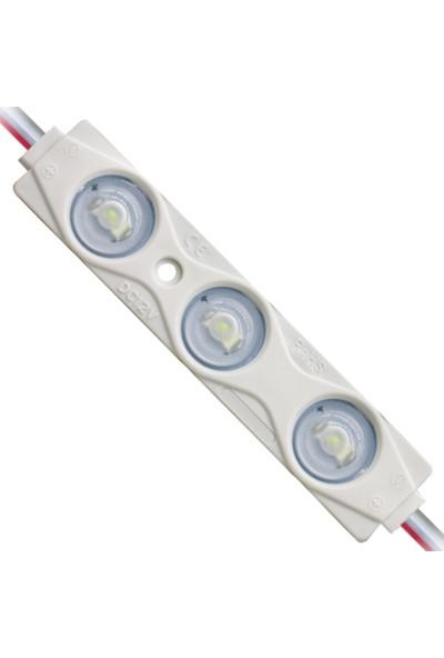 Beyaz Mercekli Modül LED 2835 1.5WATT - 10 Adet