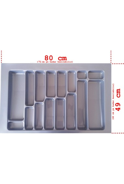 Netaks Çekmece Içi Kaşıklık 80x49 Yeni Model Ürün