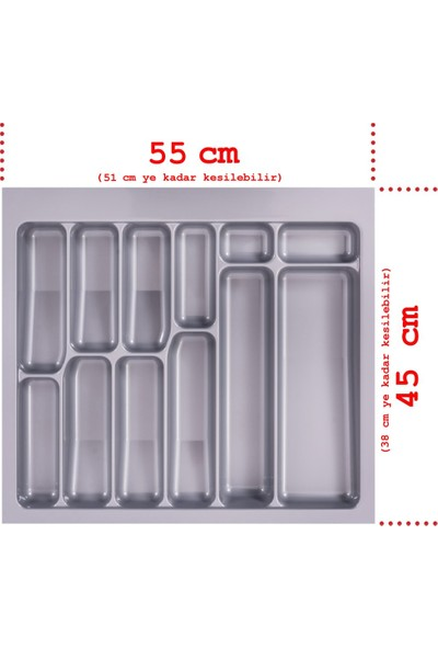 Netaks Çekmece Içi Kaşıklık 55x45 Yeni Model Ürün