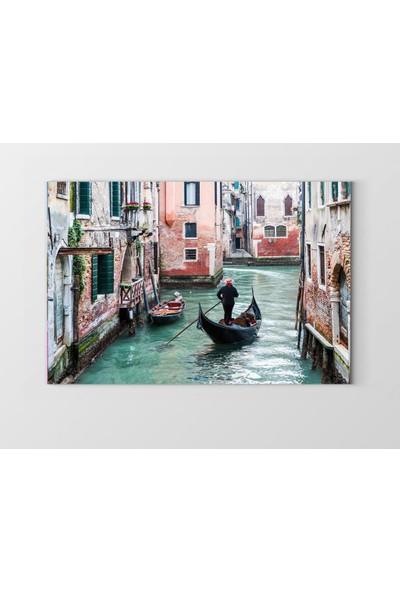 Tablo Denizi Venedik Manzarası Yağlıboya Tablosu